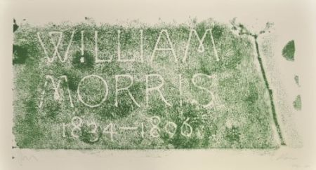 Lithographie Myles - A History of Type Desing / William Morris, 1834-1896 (Kelmscott, England)
