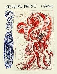 Livre Illustré Alechinsky - A la gare