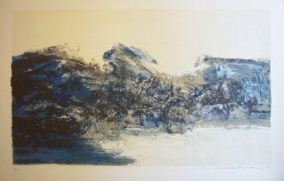 Lithographie Zao - A la gloire de l'image 284