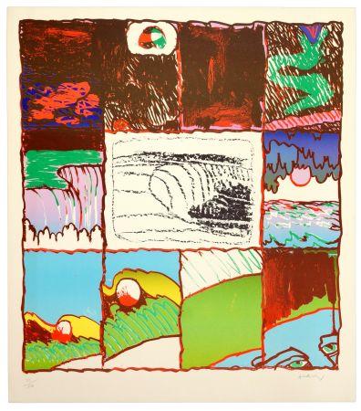 Lithographie Alechinsky - A l'imprimerie