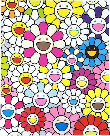 Lithographie Murakami - A Little Flower Painting I