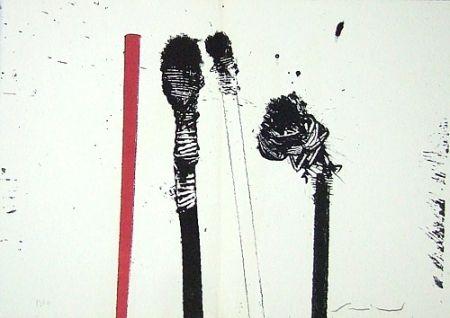 Lithographie Scanavino - A mezzo della notte