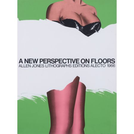 Affiche Jones - A new perspective on floors 1966