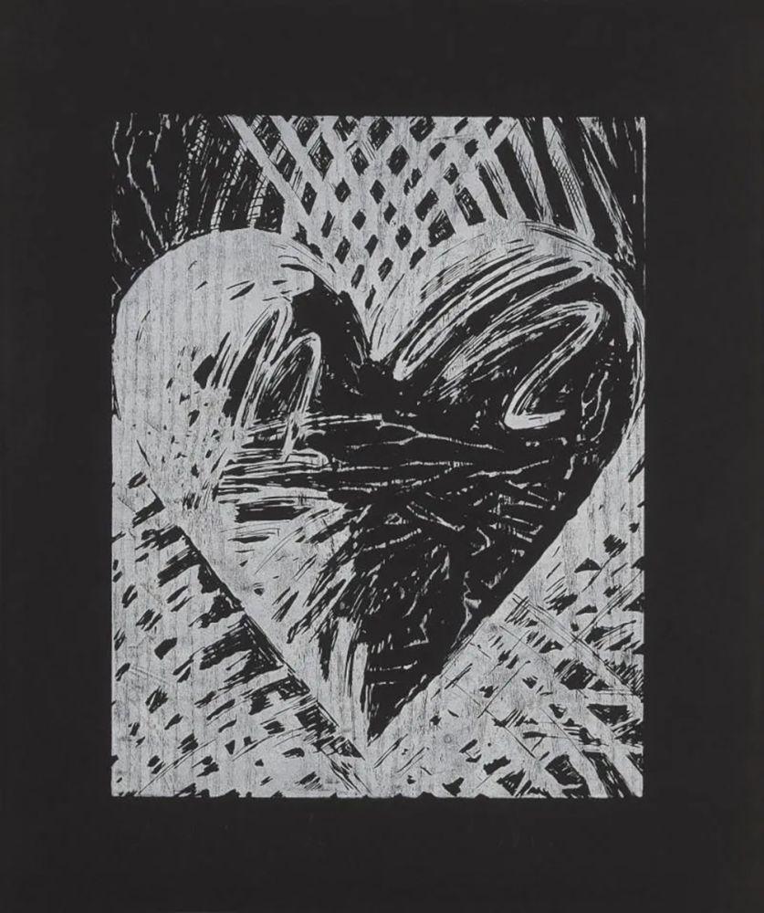 Gravure Sur Bois Dine - A Night Woodcut
