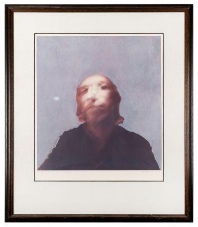 Sérigraphie Hamilton - A Portrait of the Artist by Francis Bacon