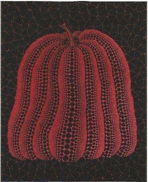 Sérigraphie Kusama - A pumpkin