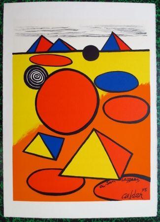 Lithographie Calder - A San Lazzaro