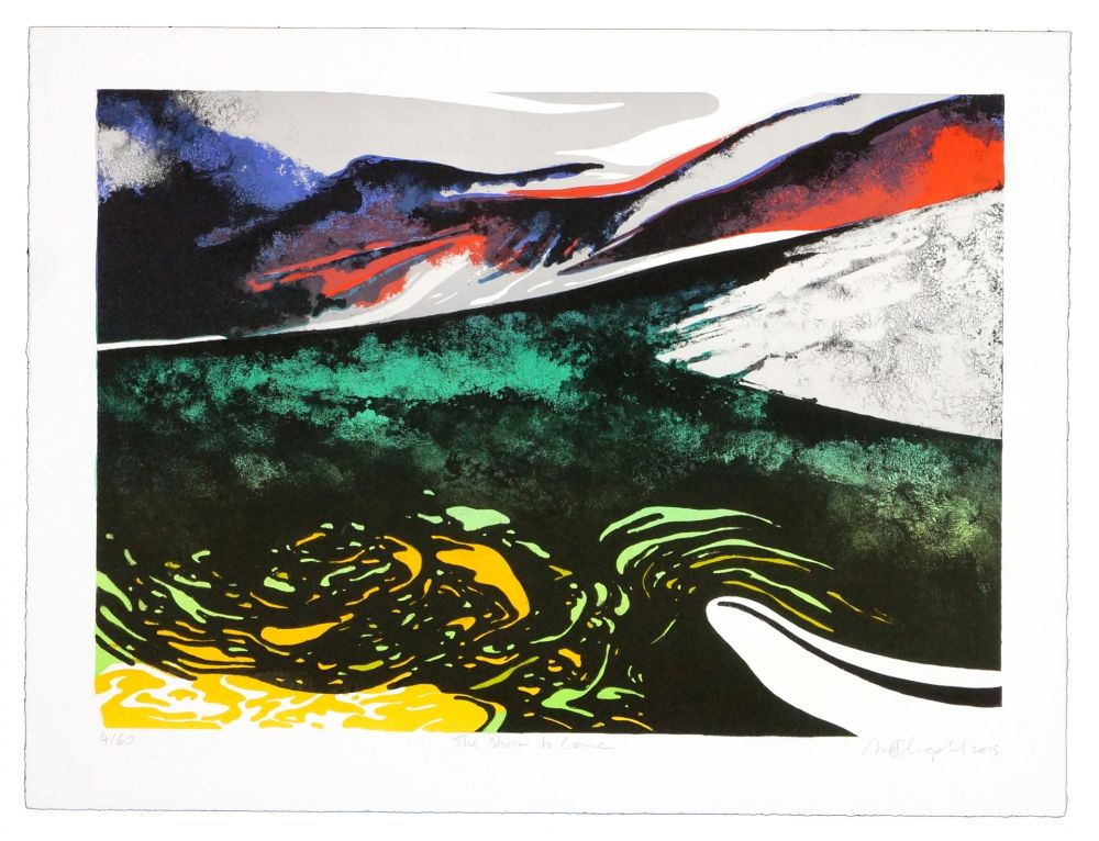 Lithographie Dolma - A storm to come