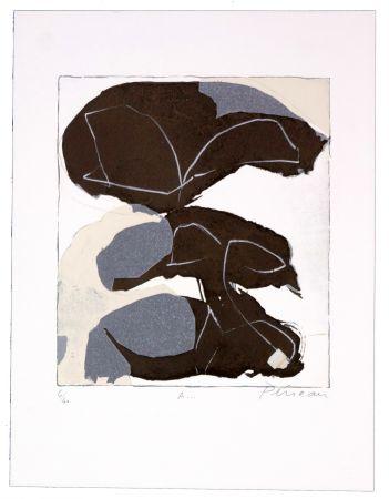 Lithographie Péneau - A storm to come
