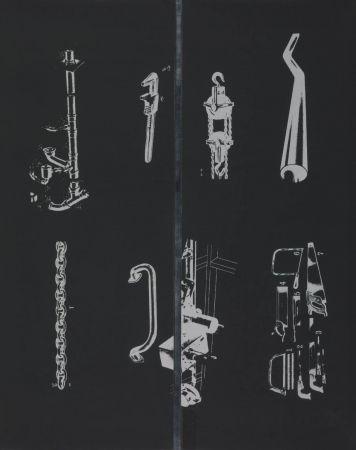 Sérigraphie Dine - A Tool Box (I)