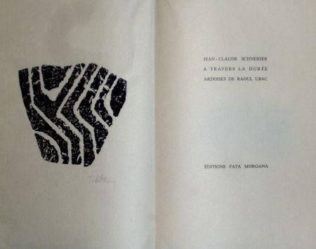 Livre Illustré Ubac - A travers la durée