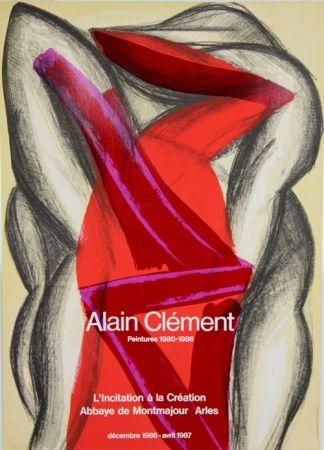 Affiche Clement - Abbaye de Montmajour Arles