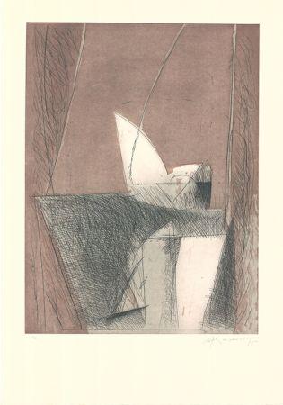 Eau-Forte Et Aquatinte Ràfols Casamada - Abril-1