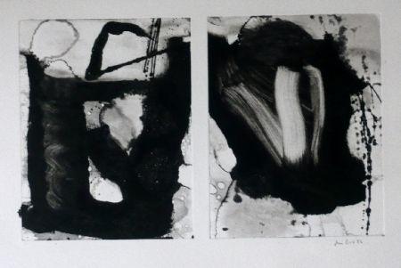 Eau-Forte Et Aquatinte Bird - Abstract 3