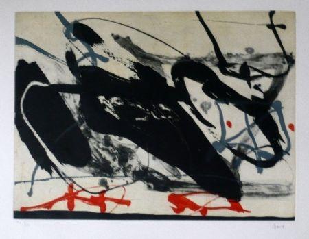 Eau-Forte Et Aquatinte Bird - Abstract 5
