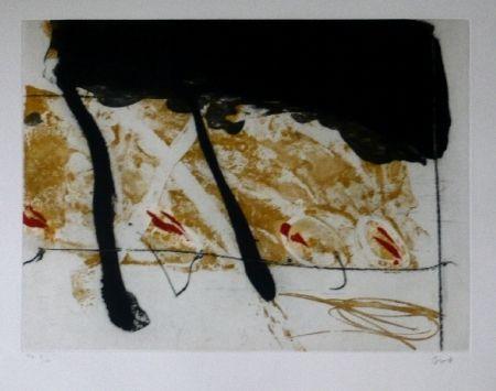 Eau-Forte Et Aquatinte Bird - Abstract 8