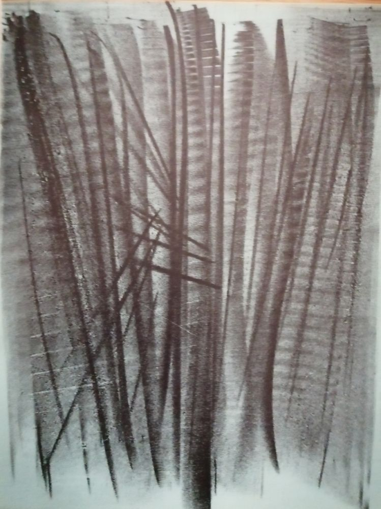 Lithographie Hartung - Abstraction