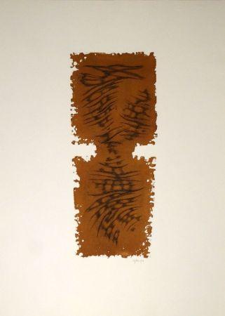 Eau-Forte Et Aquatinte Springer - Abstrakte Komposition