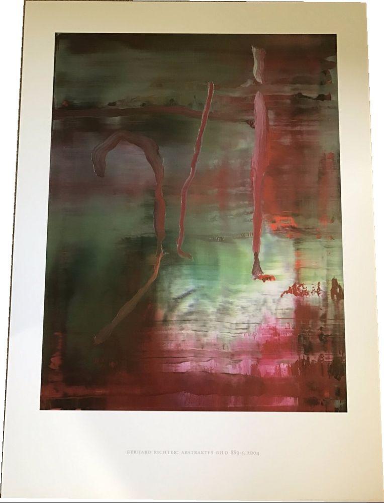 Affiche Richter - Abstraktes Bild 889-5