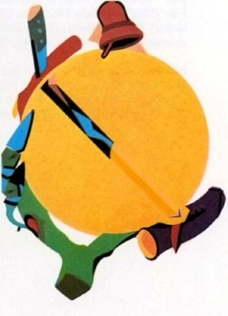 Lithographie Telemaque - Accroche soleil