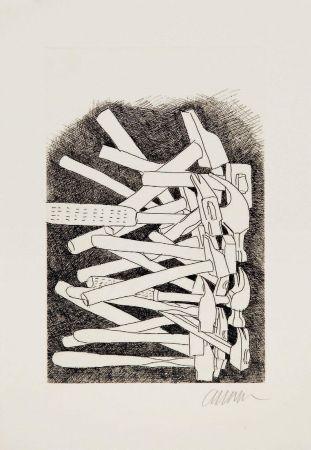Pointe-Sèche Arman - Accumulation de marteaux