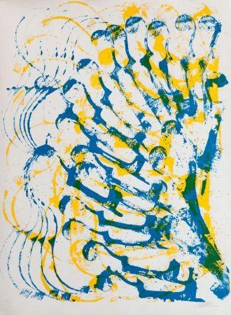 Lithographie Arman - Accumulation De Violons
