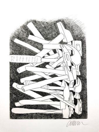 Gravure Arman - Accumulations