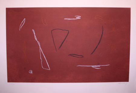 Eau-Forte Ràfols Casamada - Acord d'ombres III