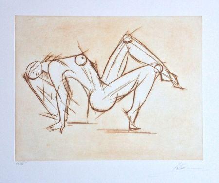 Gravure Kahn - Acrobat