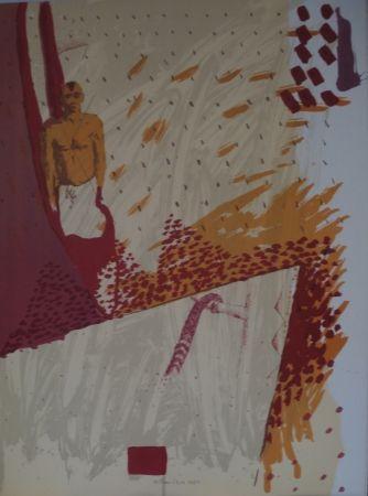 Lithographie Alberola - Acteon fecit