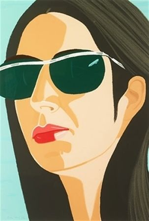 Sérigraphie Katz - Ada With Sunglasses