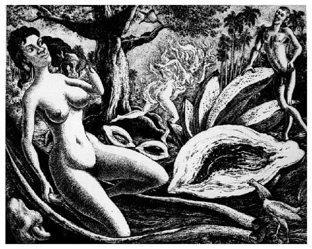 Gravure Alejandro - Adam and Eve