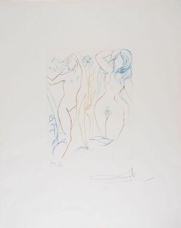 Pointe-Sèche Dali - Adam et Eve - Adam and Eve (suite Le Paradis Terrestre)