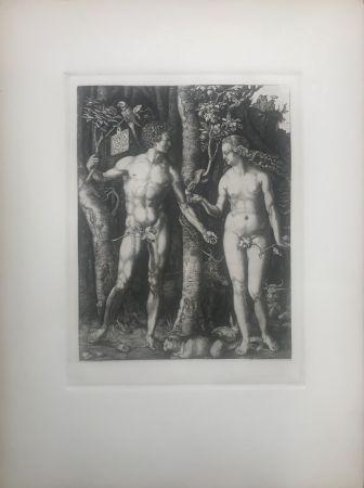 Eau-Forte Durer - Adam & Eve