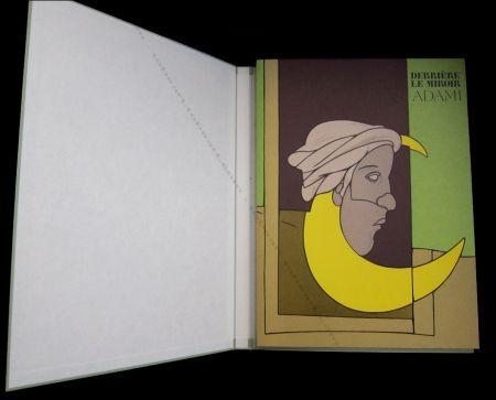 Livre Illustré Adami - Adami - Derrière Le Miroir N°239 De Luxe.