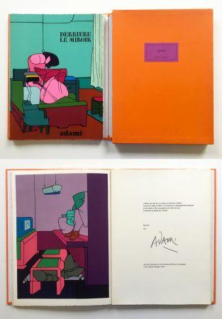 Livre Illustré Adami - ADAMI. Derrière le Miroir n° 188. Nov. 1970. TIRAGE DE LUXE SIGNÉ.