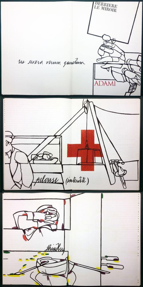Livre Illustré Adami - ADAMI. Le voyage du dessin. DERRIÈRE LE MIROIR N° 214. Mai 1975.