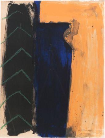 Lithographie Nupen - Adieu XXème