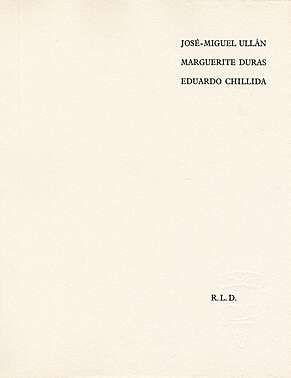 Livre Illustré Chillida - Adoración