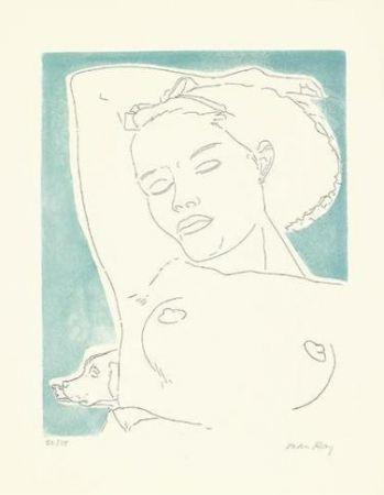 Eau-Forte Et Aquatinte Ray - Adrienne