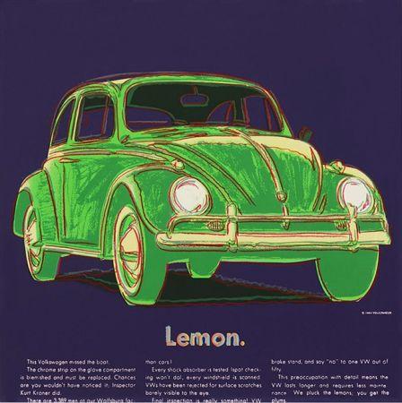 Sérigraphie Warhol - ADS: VOLKSWAGEN FS II.358