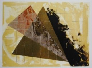 Lithographie Dill - Aerial Landscape 3