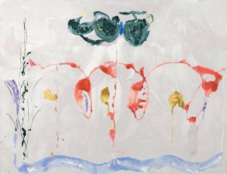 Sérigraphie Frankenthaler - Aerie