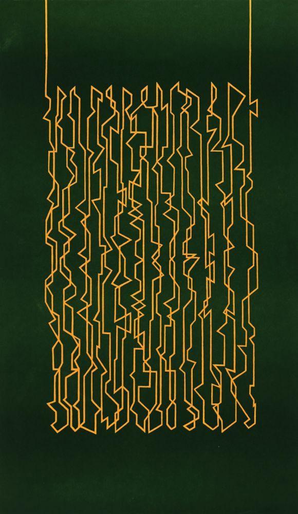 Lithographie Palazuelo -