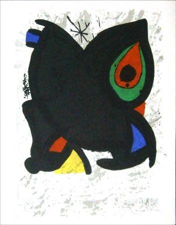 Lithographie Miró - Aff Avt Grand Palais