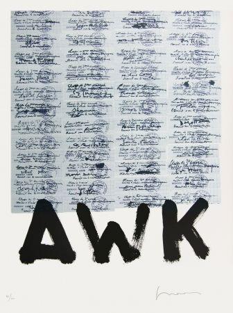 Lithographie Gasiorowski - AFF AVT N°1028