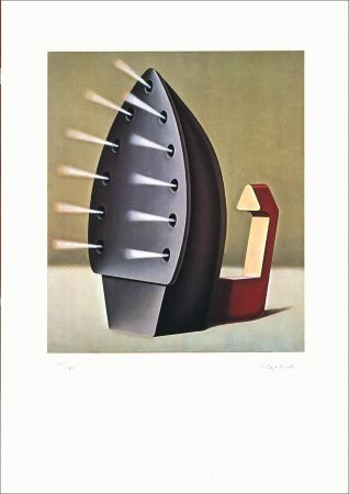 Lithographie Klapheck - AFF AVT n°180