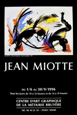 Affiche Miotte - Affiche