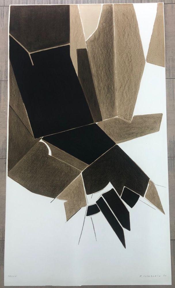Lithographie Palazuelo - Affiche A.L. Paris