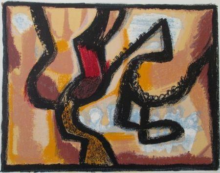 Lithographie Atlan - Affiche avant lettre, signed